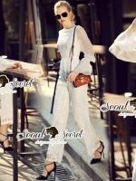 Lorral Long Lace Playsuit