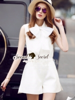 Bowy Ladiestly Ivory PlaySuit