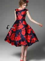 DG Floral Luxury Dress