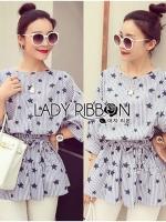 Chic Star Printed Mini Dress