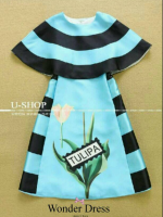 TULIPA DRESS PREMIUM QUALITY DRESS