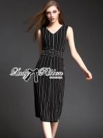 Minimal Chic Striped Jumpsuit