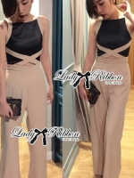 Chic Style Cut-Out Jumpsuit