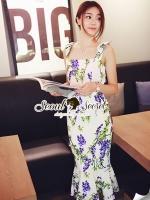 DG Blue Flora Dress