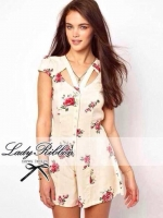 Mini Flowery Blooming Chic Playsuit