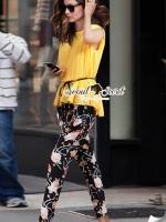 Yellow Lady Pleat Bloom Set