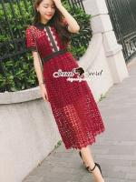 Luxy Gossippz Girl Lace SP Long Dress