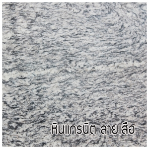 หินแกรนิต ลายเสือ (Tiger Skin Granite)
