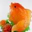 ปลาหลีฮื้อทะยานใบบัวบนฐานไม้ไผ่เหลือกินเหลือใช้ thumbnail 3
