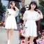 Princess Sweet Lace Crochet Mini Dress thumbnail 1