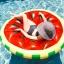 ห่วงยางเล่นน้ำแฟนซี แพยางเป่าลมแตงโม thumbnail 3