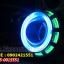 ไฟโปรเจคเตอร์รถมอเตอร์ไซค์แบบ LEDความสว่างสูงพร้อมไฟวงแหวน2ชั้น thumbnail 2