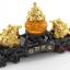 เซียมซู้มงคล(กบคาบเหรียญเจ็ดดาวเหนือ)บนเหรียญทอง ตัวแทนแห่งความรุ่งเรืองในด้านเงินทอง thumbnail 6