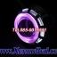ไฟโปรเจคเตอร์รถมอเตอร์ไซค์แบบ LEDความสว่างสูงพร้อมไฟวงแหวน2ชั้น thumbnail 4