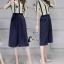 Cliona Made' Straight Line Holic Top + Pant Set - เซ็ตเสื้อ+กางเกงขา 4 ส่วน มี 2 สี สีเหลือง/น้ำเงิน ให้เลือกตามความชอบของสาวๆจ้า เนื้อผ้ามีน้ำหนักทิ้งตัวสวย มาคู่กับเสื้อลายทาง โทนสีเข้ากับกางเกงได้อย่างลงตัว งายสวยดูดี ไม่ว่าจะใส่เดินห้าง ช๊อปปิ้ง thumbnail 1