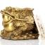 เซียมซู้มงคลกบมงคลคาบเหรียญบนก้อนทอง อวยพรโชคลาภ thumbnail 2