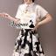 """Vivivaa recommend """"Ladiest blossom sweety skirt set """" Fabric : โพลลีเอสเตอร์ Detail : เสื้อสวยหวานด้วยทรงเสื้อคอปกบัว เข้ารูปช่วงเอว สวยเก๋ด้วยงานพิมพ์ลายดอกไม้ สีคลาสสิคมากคะ มาพร้อมกับกระโปนงพิมพ์ลายดอกไม้ ทรงเสื้อ ใส่แล้วพริ้วสวย ดูดีมากคะ สา thumbnail 1"""