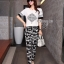Capital Diamond Shirt + Horse Printing Pant Luxury Sport Set thumbnail 1