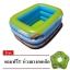 สระน้ำเด็กเป่าลม สีเขียวอ่อน ลายหนูน้อยบนหาดทราย ขนาดกลาง 130 cm ขอบ 3 ชั้น แถมฟรี ห่วงยางคอเด็ก thumbnail 5
