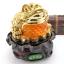 เซียมซู้มงคล กบคาบเหรียญมงคลบนใบบัวนำโชค คาบเงินคาบทอง อวยพรโชคลาภ thumbnail 1
