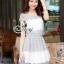 Sweet Flora Tablelacause Mini Dress thumbnail 1