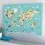 กรอบลอยแคนวาส Animal map of the world 30 x 20 นิ้ว thumbnail 1