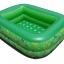 สระน้ำเด็กเป่าลม ขนาดเล็ก 120 cm ขอบ 2 ชั้น สีเขียว แถมฟรี ห่วงยางคอเด็ก thumbnail 1