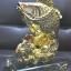 ปลาหลีฮื้อทองเล่นน้ำบนฐานคริสตัลค้าขายร่ำรวย thumbnail 3