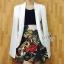 Sevy Smart Hidden Sleeve Jacket Suit Type: Jacket Suit Fabric: Hanako Detail: &#x2600️ พร้อมส่งจ้า สูทผ่าแขนลุคเรียบหรู เนื้อผ้าเรียบสวยนิ่ม ใส่ออกมาแล้วดูดี &#x2600️ สามารถใส่ได้หลายโอกาส ไม่ว่าจะใส่ไปทำงาน ไปเที่ยว ช้อปปิ๊ง ดินเนอร์ &#x2600️ ใส่แมทช์ได้ thumbnail 1