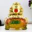 เซียมซู้มงคล(กบคาบเหรียญ)บนกระถางทอง นำโชค คาบเงินคาบทอง อวยพรโชคลาภ thumbnail 5