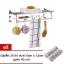 CASSA ราวแขวนผ้า วางผ้า และที่แขวนของใช้ในห้องน้ำสแตนเลสแบบติดผนัง รุ่น SUS304-CL20 thumbnail 1