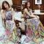 Classy Colorful Bohemian Maxi Dress thumbnail 1