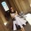 Casual black&white dress thumbnail 1