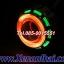 ไฟโปรเจคเตอร์รถมอเตอร์ไซค์แบบ LEDความสว่างสูงพร้อมไฟวงแหวน2ชั้น thumbnail 6