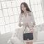 Luxury autumn and winter coat Korean style Dress thumbnail 1