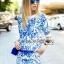 Lady Emma Marrakesh Blue Vintage thumbnail 1