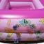 สระน้ำเด็กเป่าลม ขนาดเล็ก 120 cm ขอบ 2 ชั้น สีชมพู แถมฟรี ห่วงยางคอเด็ก thumbnail 2