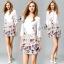 Tropical Sleeve Layer Mini Dress thumbnail 1