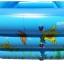 สระน้ำเด็กเป่าลม สีฟ้า ลายเพื่อนรักใต้ทะเล ขนาดใหญ่ 160 cm ขอบ 3 ชั้น แถมฟรี ห่วงยางคอเด็ก thumbnail 2