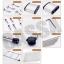 CASSA ชั้นวางของสแตนเลส 304 อเนกประสงค์ในครัว แบบมีล้อ 3 ชั้น รุ่น SUS304-L3 thumbnail 6