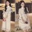 Lang Sleeve Lace Cotton Shirt Dress thumbnail 1