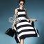 Sevy Wide Strips Layer Midi Dress Type: Midi Dress+Tube Fabric: Knit Detail: เดรสลายขวางขาวดำแขนกุ๊ด ยาวเล่ยชายเลเยอร์ สั้นยาวไล่ระดับกันอย่างสวยงาม เนื้อผ้าไหมพรมทอเนื้อแน่น ชายทิ้งพร้ิวสวย มาพร้อมเกาะอกลายเดียวกัน ใส่ขาดแล้วออกมาดูดีมีสไตล์ เก๋ไก๋เลยค่ะ thumbnail 1