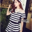 Elena Minimal Chic Striped Set thumbnail 1