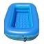 สระน้ำเด็กเป่าลม ขนาดเล็ก 120 cm ขอบ 2 ชั้น สีฟ้า แถมฟรี ห่วงยางคอเด็ก thumbnail 1