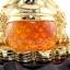 เซียมซู้มงคล กบคาบเหรียญมงคลบนใบบัวนำโชค คาบเงินคาบทอง อวยพรโชคลาภ thumbnail 3