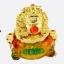 เซียมซู้มงคล(กบคาบเหรียญ)บนกระถางทอง นำโชค คาบเงินคาบทอง อวยพรโชคลาภ thumbnail 2