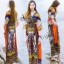 Traditional Thai Style Bohemian Chilaxing Maxi Dress thumbnail 1