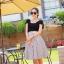 Voluminous Square Flare Skirt Set thumbnail 1