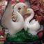 นกเป็ดน้ำคู่รักนำโชคบนฐานไม้มงคล thumbnail 2