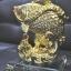 ปลาหลีฮื้อทองเล่นน้ำบนฐานคริสตัลค้าขายร่ำรวย thumbnail 2